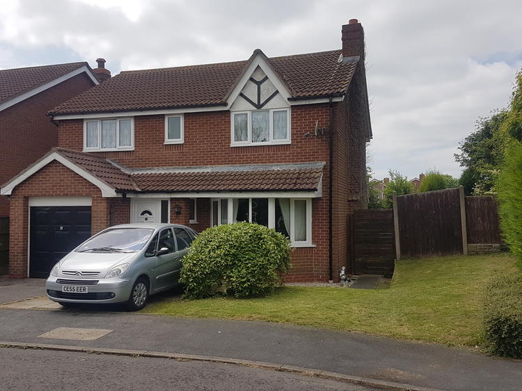 Detached House In Newark 4 Aspen Court Sdl Auctions