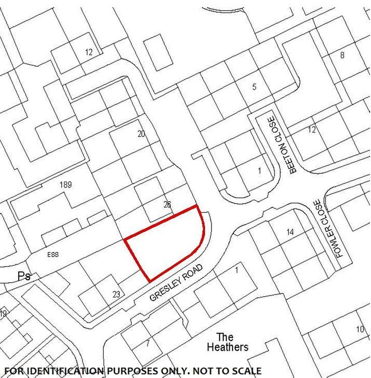 Land In Louth Building Plot At Gresley Road